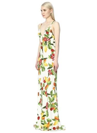 Isolda Elbise Beyaz